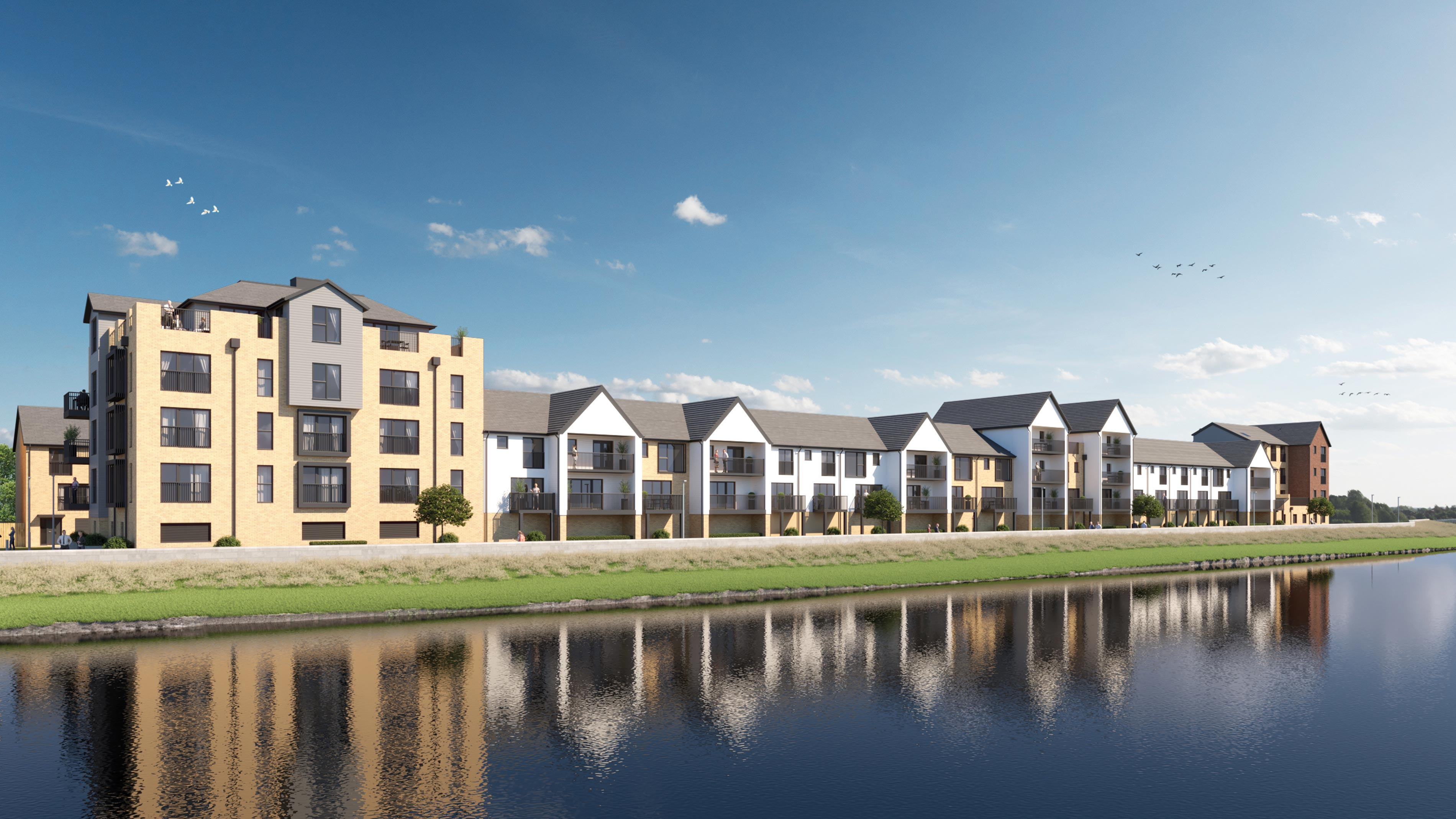 Taw Wharf Town houses for sale Barnstaple